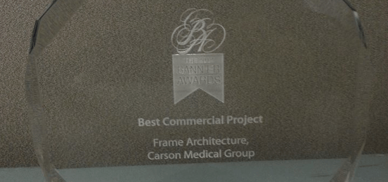 Banner Award for Best Commercial Project