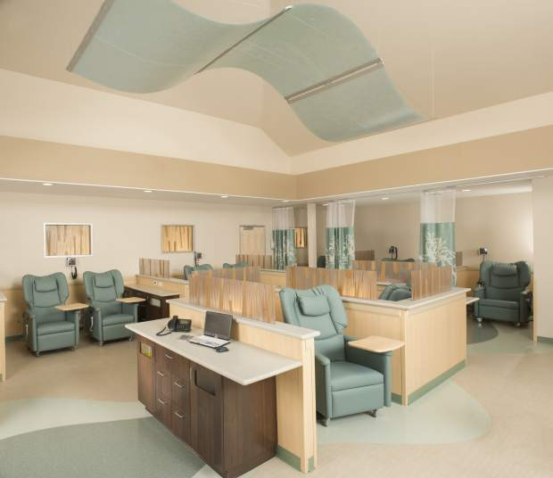 Reno Oncology Clinic Mixes Calming Look With Efficiency