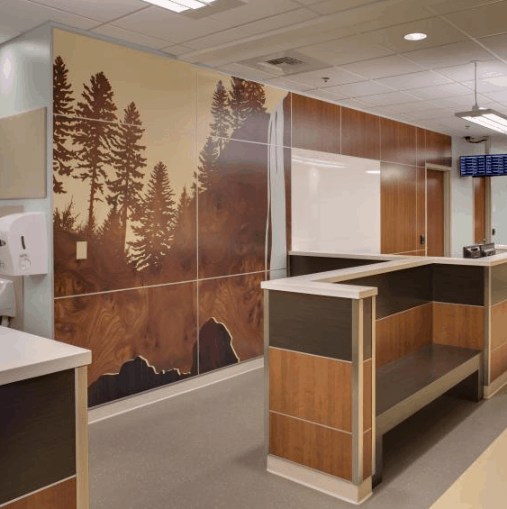 Art Plays Starring Role At Kaiser Permanente's New Oregon Hospital