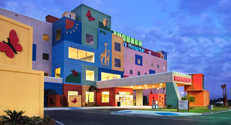 Edinburg Children's Hospital is the first and only hospital in the Rio Grande Valley built just for kids.