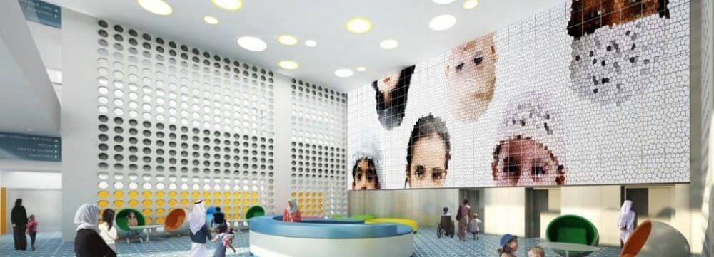 Colorful Hospital Floors