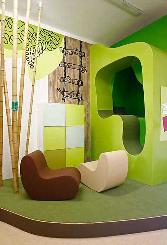 How important is a positive atmosphere for kids wikoff for Creative agency interior design