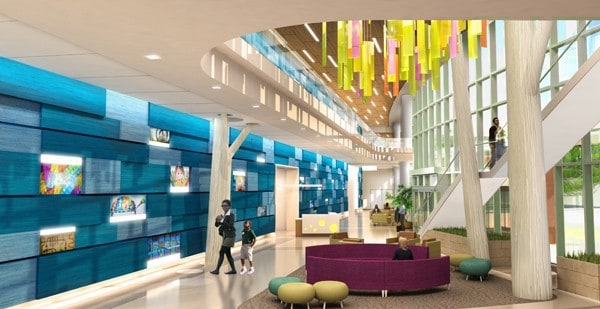 Akron Children's goes green with LEED Certification. In the new building, many areas like the lobby will rely on a lot of natural light, one of the things engineered to get LEED certification.