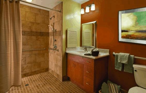 Patient Bathroom Transformations Still A Skilled Nursing Unit - Bathroom transformations