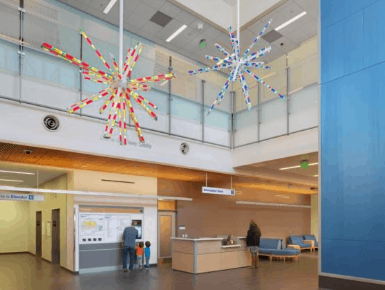 The New UCSF Medical Center at Mission Bay in San Francisco