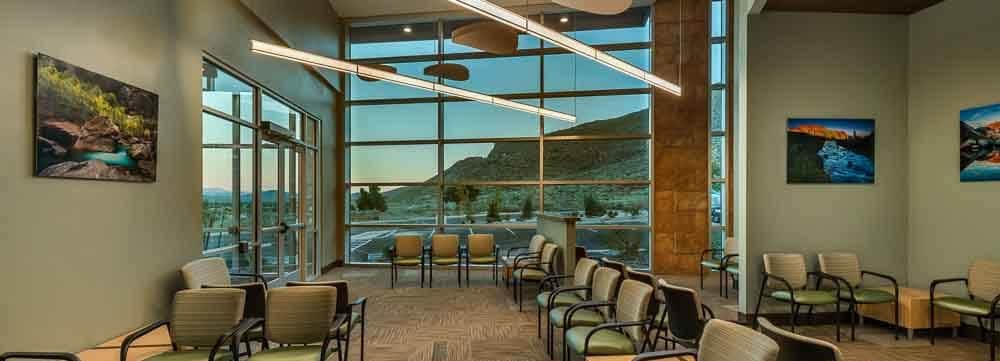 Carson Dermatology – Showcases the Design of Wikoff Design Studio and Her Chosen Art Pieces from Healing Images
