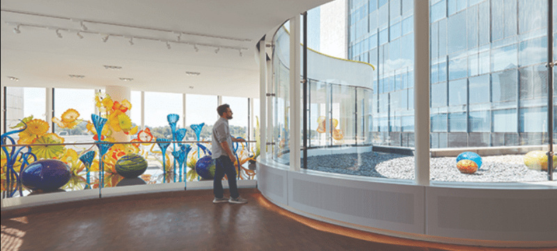 House of Glass – A Perfect Example of Using Daylight in a Healthcare Environment