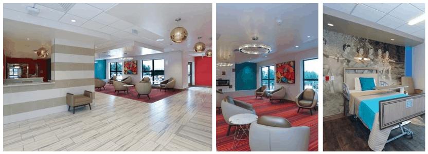 Orlando Health Center for Rehabilitation Designed as a Destination Rehab Hotel