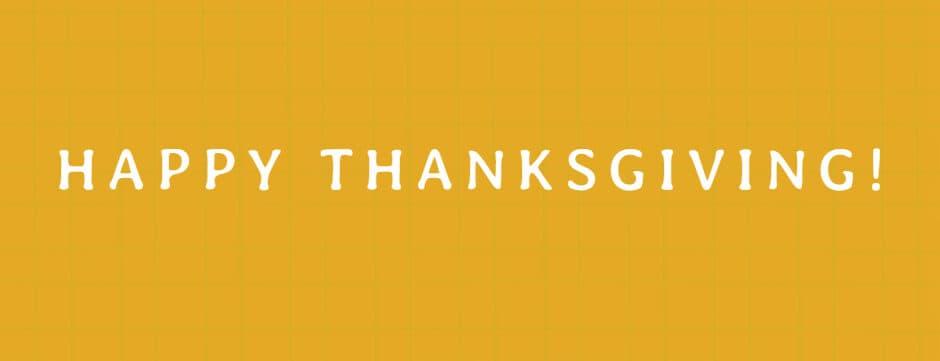 Happy Thanksgiving! 🦃🦃🦃